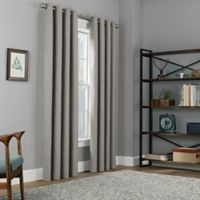 Copley Square 95-Inch Grommet Top 100% Blackout Window Curtain Panel in Platinum
