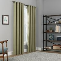 Copley Square 108-Inch Grommet Top 100% Blackout Window Curtain Panel in Sage