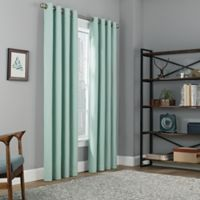 Copley Square 63-Inch Grommet Top 100% Blackout Window Curtain Panel in Spa
