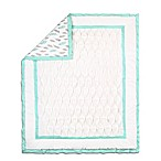 The Peanut Shell® Quilt/Coverlet in Turquoise