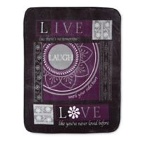 Hi Pile Oversized Laugh Throw Blanket