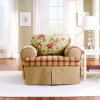 Sure Fit® Lexington T-Cushion Chair Protector