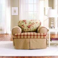 Sure Fit® Lexington T-Cushion Chair Protector