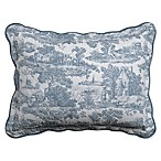 Nostalgia Home™ Calais Standard Pillow Sham in Blue