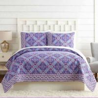 Vera Bradley® Purple Passion Twin Quilt in Purple