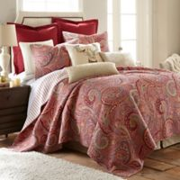 Levtex Home Avery Full/Queen Reversible Quilt Set in Red