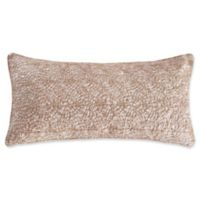 Levtex Home Avery Gold Overlay Oblong Throw Pillow