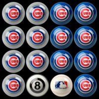 MLB Chicago Cubs Home vs. Away Billiard Ball Set