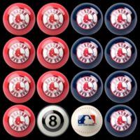 MLB Boston Red Sox Home vs. Away Billiard Ball Set