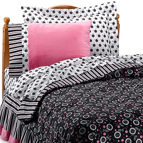 Kathy Ireland Home® Madison Girl Bedding Set by Thank You Baby - Bed ...
