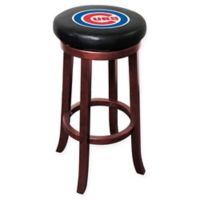 MLB Chicago Cubs Wooden Bar Stool
