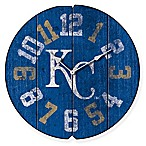 MLB Kansas City Royals Vintage Round Wall Clock