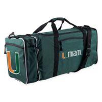 University of Miami 28-Inch Duffel Bag