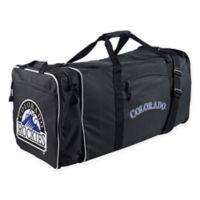 MLB Colorado Rockies 28-Inch Duffel Bag