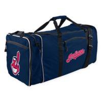 MLB Cleveland Indians 28-Inch Duffel Bag