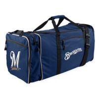 MLB Milwaukee Brewers 28-Inch Duffel Bag