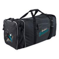 NHL San Jose Sharks 28-Inch Duffel Bag