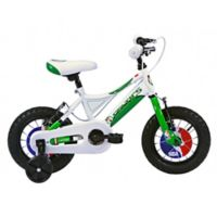 NBA Boston Celtics 12-Inch Kids Mountain Bike in White/Green