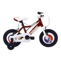 NBA Miami Heat 12-Inch Kids Mountain Bike in Red/White