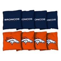 NFL Denver Broncos 16 oz. Duck Cloth Cornhole Bean Bags (Set of 8)