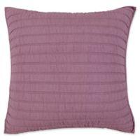 Kosas Home Heirloom Linen European Pillow Sham in Orchid
