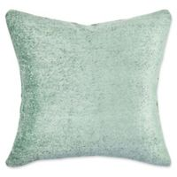 Vesper Lane Chenille Square Throw Pillow in Teal