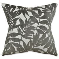 Vesper Lane Nautical Floral Square Throw Pillow in Green
