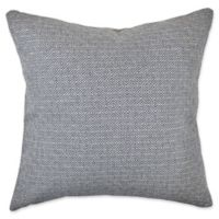 Vesper Lane Contemporary Square Throw Pillow in Blue