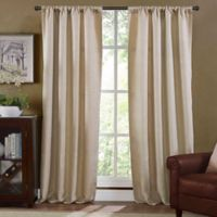 Arbor Lined 84-Inch Window Curtain Panel in Linen