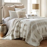 Levtex Home Sofi King Reversible Quilt Set in Beige