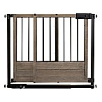 HOMESAFE™ by Summer Infant® Rustic Home Safety Gate in Black