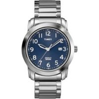 Timex® Men's 39mm Highland Street Classic Watch in Stainless Steel with Expansion Band