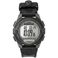Timex® Men's 41mm Expedition® Full-Size Digital CAT Watch with Black Resin Strap