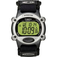 Timex® Expedition® Men's 39mm Full-Size Digital CAT Watch with Black FastWrap® Strap