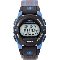 Timex® Unisex 33mm Expedition Mid-Size CAT Digital Watch with Grey Nylon Strap
