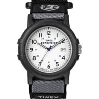 Timex® Expedition® Men's 39mm Camper Watch in Black Resin with Black Nylon Strap