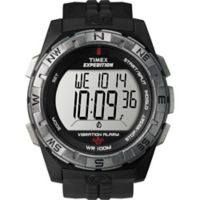 Timex® Expedition® Vibration Alarm Men's 43mm Watch with Black Resin Strap