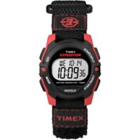 Timex® Expedition® Men's 33mm Mid-Size Digital Watch in Black Resin w/Black Nylon Strap
