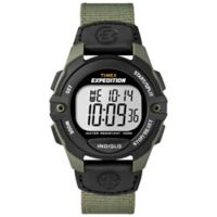 Timex® Men's 41mm Expedition® Full-Size Digital CAT Watch with Green Nylon Strap