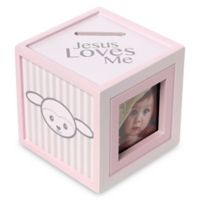 Precious Moments® Precious Lamb Girl Photo Bank