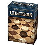 Cardinal® Traditions Checkers Board Game