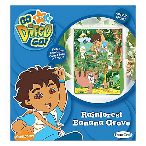 Nick jr go diego go rain forest banana grove bed for Go diego go bedding