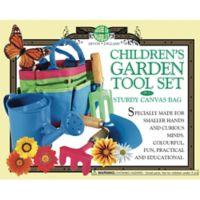 Children's Garden Tool Set with Canvas Bag