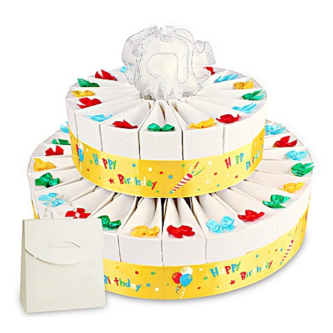 Birthday Party Two Tier Cake Favor Kit