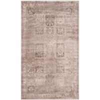 Safavieh Vintage Tile 3-Foot 3-Inch x 5-Foot 7-Inch Area Rug in Mouse