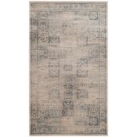 Safavieh Vintage Tile 3-Foot 3-Inch x 5-Foot 7-Inch Area Rug in Stone/Blue