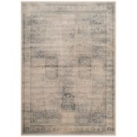 Safavieh Vintage Tile 4-Foot x 5-Foot 7-Inch Area Rug in Stone/Blue