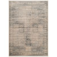 Safavieh Vintage Tile 5-Foot 3-Inch x 7-Foot 6-Inch Area Rug in Stone/Blue