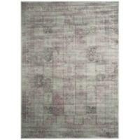 Safavieh Vintage Tile 6-Foot 7-Inch x 9-Foot 2-Inch Area Rug in Amethyst