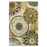 Mohawk® Inspired India 5-Foot x 7-Foot Light Multicolor Area Rug